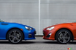 BRZ Left, FR-S Right