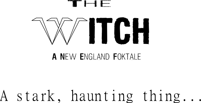 The witch custom font